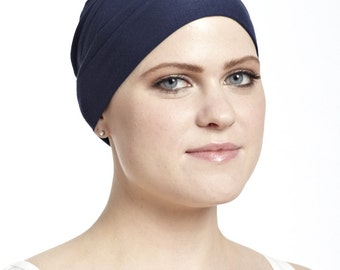 The Bamboo Basic (navy blue) - A Soft, Hypoallergenic Cap