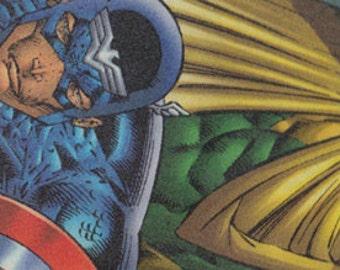 Captain America Bookmark - Christmas Gift - Captain America - Bookmark - The Avengers - The Vision - Red - White - Blue - Patriotic