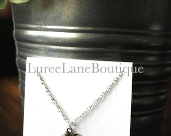 Teacher necklace/Apple necklace/Teacher gift/Teacher appreciation gift/Friendship necklace/Birthday gift/Graduation necklace/Apple pendant