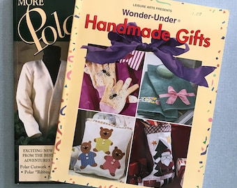 Lot of 2  Softcover Craft Pattern Books