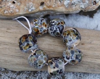 Lampwork beads. 7 like ancient