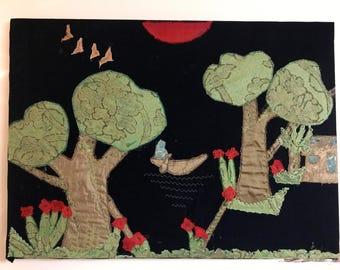 Samiomor - Tree Landscape Wall Art