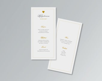 Menu card for weddings   Belvedere   PDF