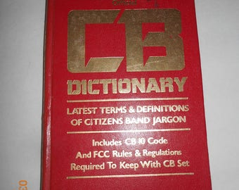 The official CB Dictionary - guide book - Cb radio - book - read