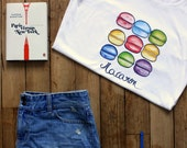 Women's Macaron T-Shirt for Francophiles who love France