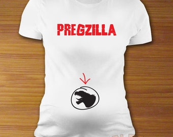 Pregzilla Maternity Shirt