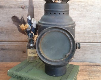 antique Dietz automobile lantern / Carriage lantern / antique lantern / Driving lantern