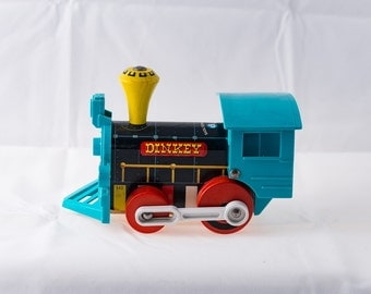 Fisher-Price Train Vintage Pull Toy #642