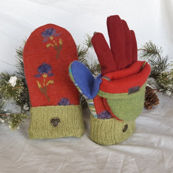 Wool Sweater Mittens For Sale 15