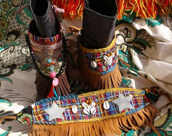 Country Western Boot Belts***Multicolor**mexican inspired
