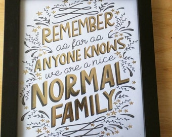 Remember as far as anyone knows print and wood frame