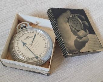 Cadencia Metronome, Pocket Metronome, Rhythm Watch, Music Equipment, Musical Instrument, Cadencia Palmer, Swiss Brevete, Vintage Music Gear