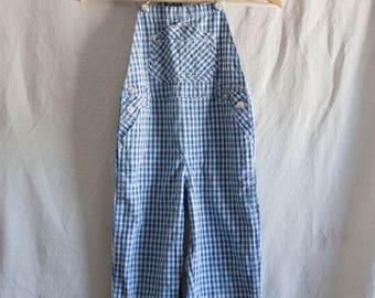 Little Boy Blue Soft Cotton Overalls - TOTTO KIDDO