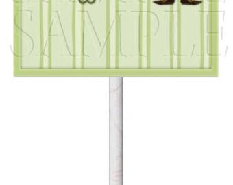 St. Patrick's Day Boy Lollipop Covers,Digital Download,DIY Printable,Instant Download