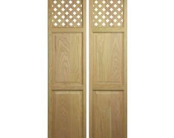 Custom Oak Full Length Swinging Interior Doors (Cafe Doors / Saloon Doors)