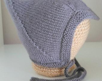 Pixie hat, Elfin hat, Pixie helmet, photo prop, newborn hat, newborn photo prop