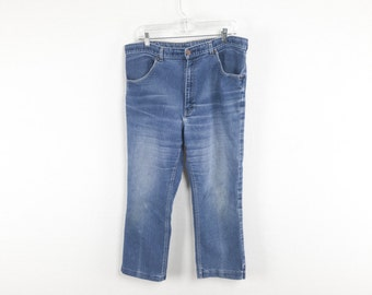 Soft 70's Denim High Water Jeans