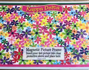 Kappa Delta Magnetic Picture Frame