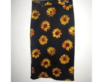 Retro 90s Sunflower Skirt