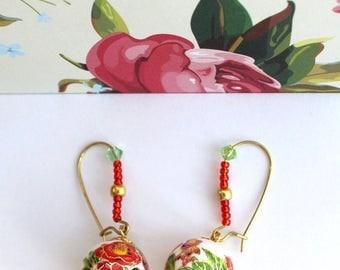 Slavic Style Earrings.