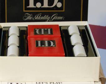 I.D. The Identity Game. Milton Bradley (1988)