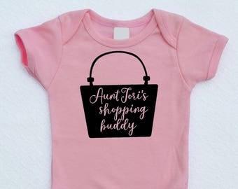 Aunt's / Mommy's / Grandma's Shopping Buddy Bodysuit
