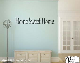 Home Sweet Home Decal #3