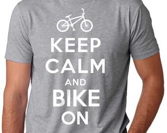 Bike T-Shirt Gift For Bicycle Fan BMX Fan Tee Shirt