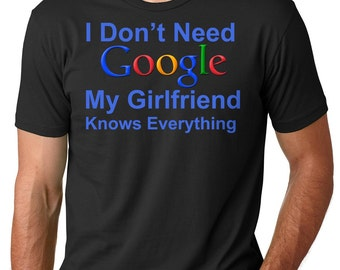 Boyfriend T-Shirt Funny Gift For Boyfriend Tee Shirt