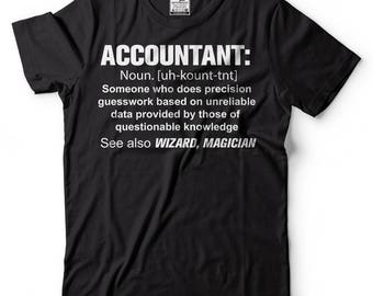 Accountant T-Shirt Accounting CPA Funny Profession Tee Shirt