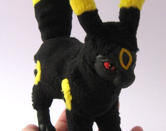 Pokemon Umbreon OOAK posable art doll