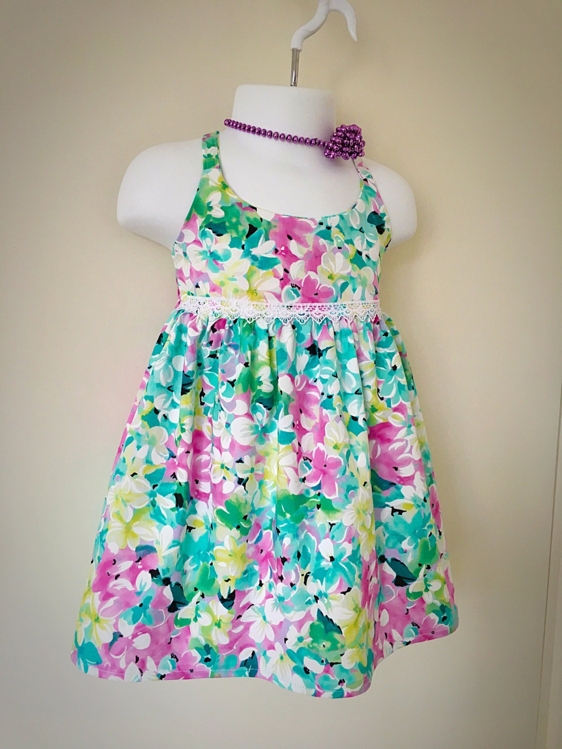 Dressed for a Tea Party - dress for 18 month / 2 year old girl ...