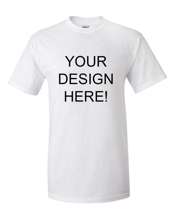 Custom t shirt print your own design by ubudesigns on etsy for Custom t shirts design your own