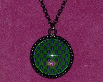 The Shining / Room 237 Inspired Black Cameo Necklace