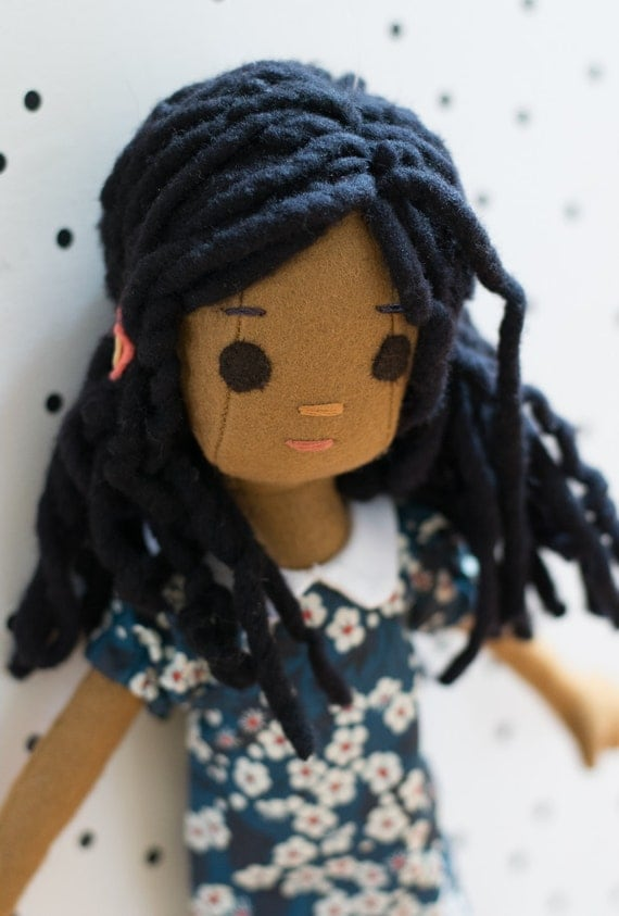 Tiny Doll with Wardrobe, including Hand Knit Sweater