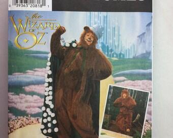 "Vintage Simplicity 7833 Wizard Of Oz ""Lion"" Costume Pattern size S,M,L Adult"