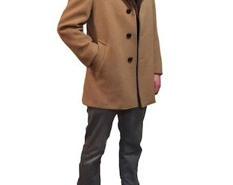 Mens wool coat | Etsy