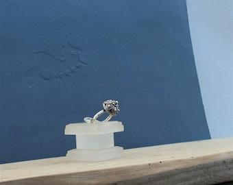 Dubrovnik Filigree Ring, Handmade Ring, Sterling Silver Ring, Metalwork Ring, Croatian Jewelry, Vintage Ring, Boho Ring, Silver Womens Ring