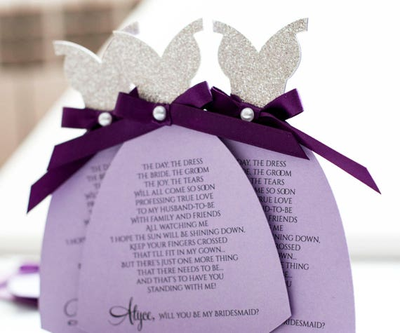 Bridesmaid Invitation Gift, Will You Be My Bridesmaid Bridal Party Anouncement, Bridesmaid Invitation, Bridal Shower (BR2)