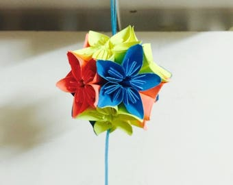 Small Origami Flower Ball