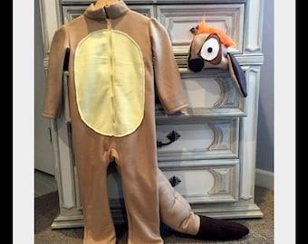 Timon Inspired Costume, Lion King Inspired Costume, Meerkat Costume, Meerkat