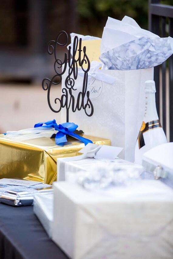 Bridal Shower Sign, Baby Shower Signage, Wedding Sign, Wooden Wedding Sign, Rose Gold Wedding, Gold Wedding, Laser Cut Gifts Sign, Gift Sign
