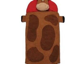 stephen joseph horse nap mat, little boy nap mat, preschool nap mat, pre-k nap mat