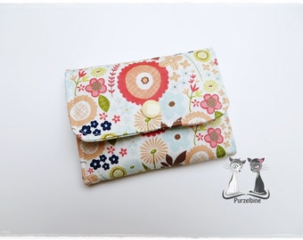 Business card holder - flowers