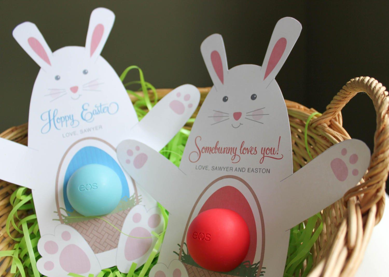 Eos lip balm bunny gift printable gift eos lip balm easter zoom negle Gallery