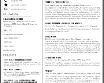 Custom Resume and Cover letter