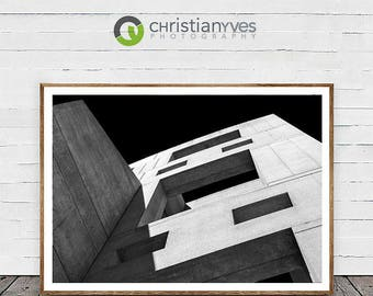 "Architecture Photography, ""Angles Alright"" Large Wall Art Vancouver Prints, Fine Art Home Decor"