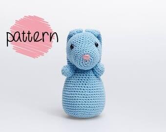 Bunny Amigurumi Pattern, Easter Bunny Pattern, Crochet Bunny Pattern, Crochet Rabbit, Easter Bunny Amigurumi Tutorial, Rabbit Pattern
