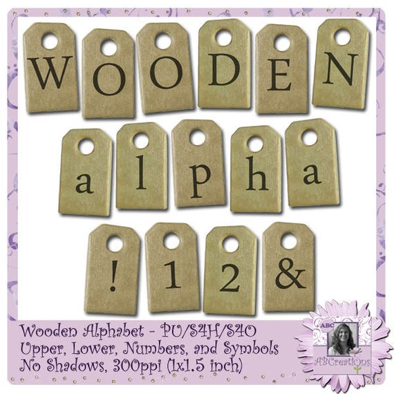 Wooden Alphabet, alpha, font, text, title, words, word art, letters, journaling, writing, word art