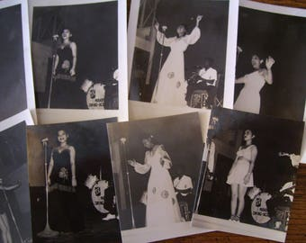 Band Photos  Found Photography Burlesque Vaudeville Swing Dance